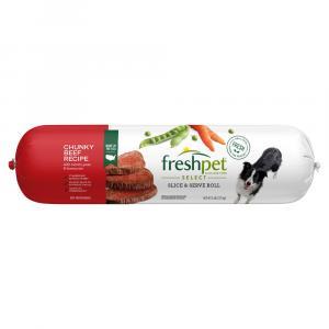 Freshpet Select Adult Chunky Beef Veg & Rice Dinner