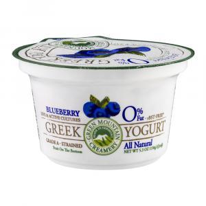 Green Mountain Creamery Nonfat Greek Blueberry Yogurt