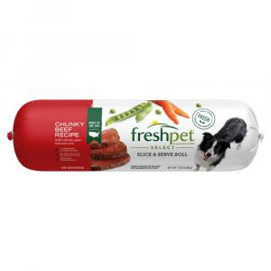 Freshpet Select Adult Chunky Beef & Vegetable Rice Dinner