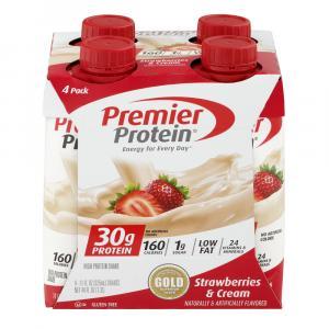 Premier Protein Strawberry & Cream Shakes