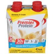 Premier Protein Banana & Cream Shakes