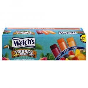 Welch's Tropics Giant Freeze Pops