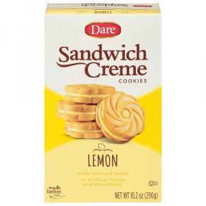 Dare Lemon Creme Filled Cookies