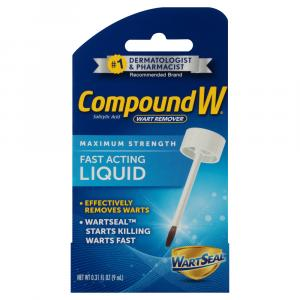 Compound W Wart Remover Liquid