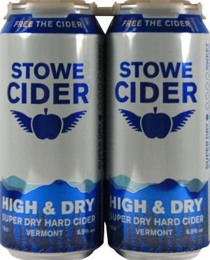 Stowe Cider High & Dry Super Dry Hard Cider