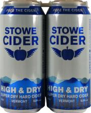 Stowe Cider High & Dry Super Dry Hard Cider