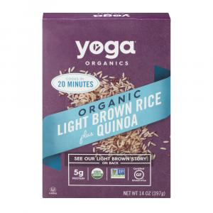 Yoga Organic Light Brown Rice Plus Quinoa