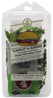 Groundt To Table Flavor Kit Burgers