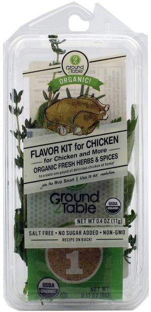 Ground To Table Flavor Kit Chicken