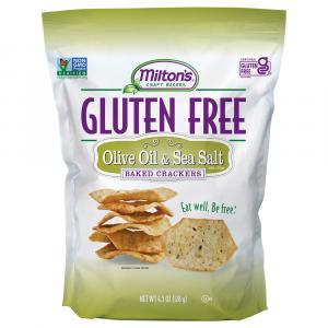 Milton's Gluten Free Olive Oil & Sea Salt Baked Crackers