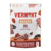Vermont Smoke & Cure BBQ Seasoned Beef Sticks Minis