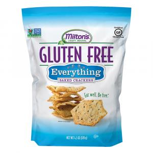 Milton's Gluten Free Everything Baked Crackers