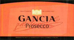 Gancia Prosecco