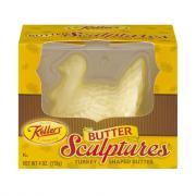 Keller's Turkey Shaped Salted Butter Sculpture