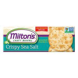 Milton's Sea Salt Crispy Crackers