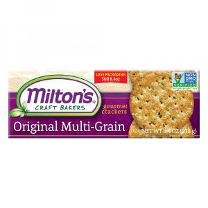 Milton's Original Multigrain Gourmet Crackers