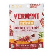 Vermont Smoke & Cure Uncured Pepperoni Turkey Sticks
