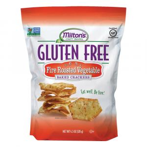Milton's Gluten Free Fire Roasted Vegetable Baked Crackers