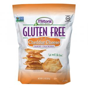 Milton's Gluten Free Cheddar Cheese Baked Crackers