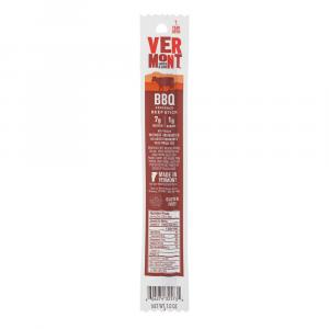 Vermont Smoke & Cure BBQ Beef Stick
