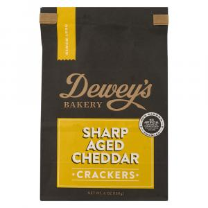 Dewey's Bakery Sharp Aged Cheddar Crackers