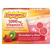 Emergen-C Strawberry-Kiwi Flavor 1,000 MG Vitamin C