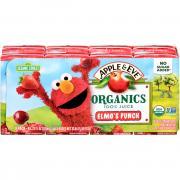 Apple & Eve Organics 100% Juice Elmo's Punch