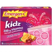 Emergen-C Kidz Fruit Punch Vitamin C