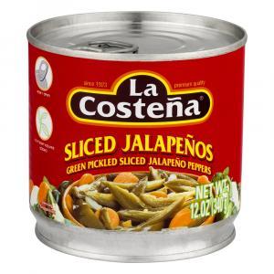 La Costena Sliced Jalapenos