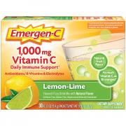 Emergen-C Lemon Lime Vitamin C Packets