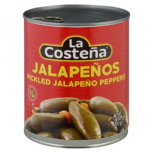La Costena Green Pickled Whole Jalapeno Peppers