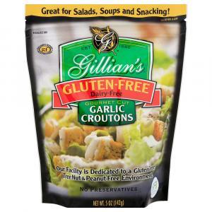 Gillian's Garlic Croutons Wheat, Gluten & Dairy Free