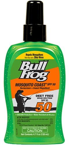 Bull Frog Mosquito Coast Sunscreen + Insect Repellent SPF 50