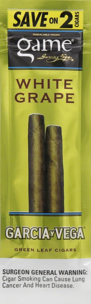 Game Foil Fresh White Grape Flavored Cigarillo Save On 2