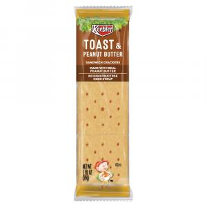 Keebler Toast & Peanut Butter Cracker Single Serve Pack