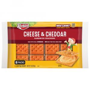 Keebler Cheese & Cheddar Sandwich Crackers
