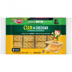 Keebler Club & Cheddar Sandwich Crackers