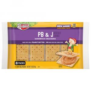 Keebler Peanut Butter & Jelly Crackers