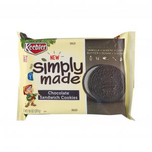 Keebler Simply Made Chocolate Sandwich Creme Cookies