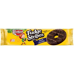 Keebler Fudge Stripe Dark Chocolate Cookies