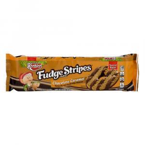 Keebler Fudge Stripes Chocolate Caramel Cookies