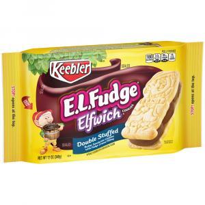 Keebler E.L.Fudge Elfwich Double Stuffed Cookies