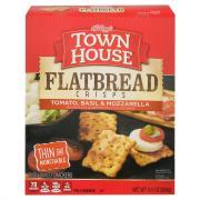 Keebler Town House Flatbread Crisps Tomato Basil Mozzarella