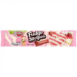 Keebler Fudge Stripes Strawberry Cheese Cake