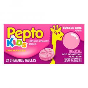 Pepto Bismol Children's Bubble Gum Chewable Tablets