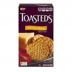 Keebler Toasteds Wheat Crackers