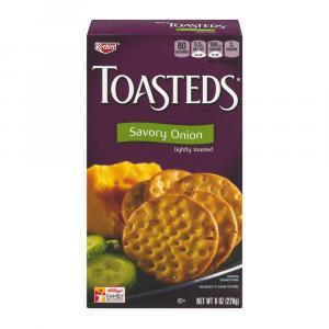 Keebler Toasteds Onion Crackers