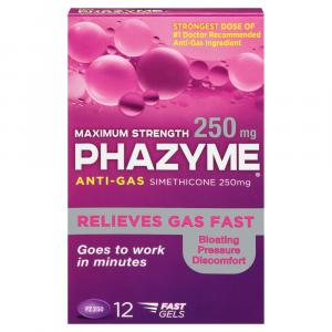 Phazyme Maximum Strength Anti-Gas 250mg