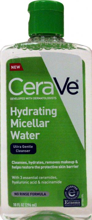 Cerave Hydrating Micellar Water Ultra Gentle Cleanser