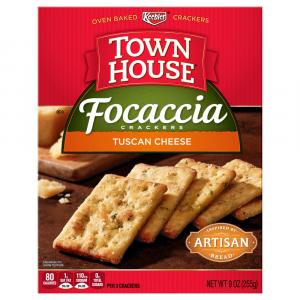 Keebler Town House Tuscan Cheese Crackers